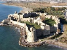See the ancient Mamure Kalesi, also known as Mamure Castle, in Turkey