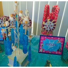 Elsa's Icicles! Email for candy card details.