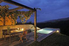 Ferienhaus Steiermark mit Pool und Sauna Country House Hotels, Sauna, Bungalow, Beautiful Places, Bathtub, Patio, Explore, Outdoor Decor, Home Decor