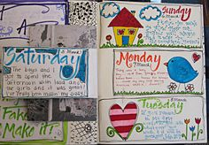 ASE Keepin' Creative: Recent Snippets of My Life...Art Journal Pages