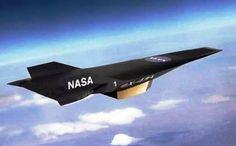 2.-X-43A Top 10 aeronaves mais rápida do mundo (2012)