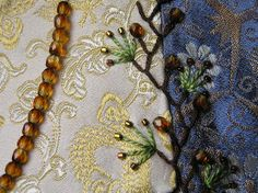 I ❤ embroidery . . . center seam embellishment ~By Lin Moon