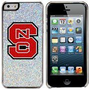 NC State Wolfpack iPhone 5/5s Bling Thinshield Snap-On Case – Silver