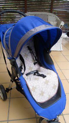Seedlings Nest: how to make pram liner for baby jogger pram ;-)