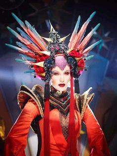 "Fashion icon Daphne Guinness's recent turn as a futuristic pop star from another galaxy in her debut album ""Evening in Space"" - the video is directed by legendary photographer David LaChapelle."