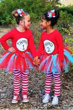 Wholesale Childrens Clothing and Accessories  sc 1 st  Pinterest & Easy Halloween Costume -- Thing 1 and Thing 2 Tutorial | ambers ...