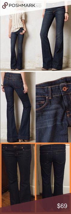 "⚜️NWOT J Brand ""Love Story"" Flare Jeans. Size 29. 🐞NWOT J Brand ""Love Story"" Flare Jeans. Size 29. Color. Ink. Dark blue. Flare leg. No fraying on bottom.    Waist:: 18"" flat. Inseam: 32"". Length: 40.5"". J Brand Jeans Flare & Wide Leg"