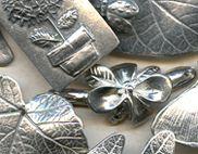 Botanicals - Dorabeth Designs Pewter @antelopebeads.com #beading #dorabeth designs #jewelry