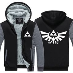 Not Sold In Stores - Very Exclusive Product! This is a Limited Time Offer: 30% OFF + FREE SHIPPING This is a wonderful hoodie for any Legend of Zelda fan! Super high-quality Triforce hoodie. Very warm