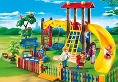 Children´s Playground - 5568 - PLAYMOBIL® USA