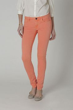 obsessed w/ skinny pants in pastels for the spring