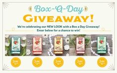 Box a Day Giveaway - Win Tea! Daily winners. {US} 6/16/17 via... sweepstakes IFTTT reddit giveaways freebies contests