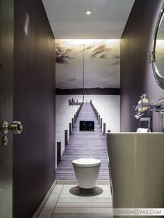 21 Big Ideas for Tiny Bathrooms |  #bathroom
