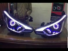 Elite i20 Projector Lamps with Eagle Eyes