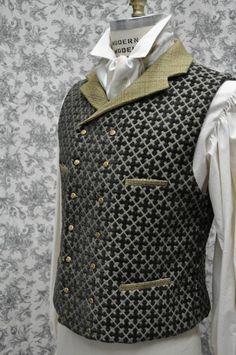 Neo-Victorian vest