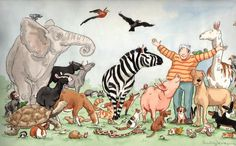 'Dick King-Smith's Animal Friends book cover'