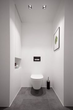 Minimalist bathroom / toilet Kartell by Laufen  http://www.justleds.co.za