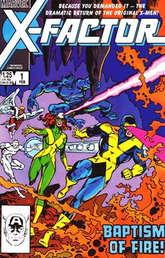 X-Factor #1, February 1986 - Walt Simonson & Joe Rubinstein