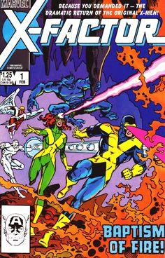X-Factor #1, February 1986 - Walt Simonson & Joe Rubinstein