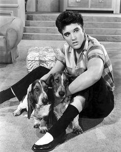 Elvis Presley in Jailhouse Rock, 1957.