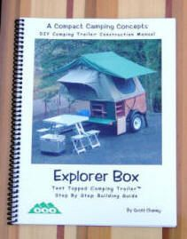 Build your own tent trailer with the Explorer Box construction manual