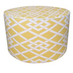 Jiti Point Ottoman Color: Yellow