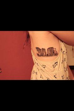 Book tattoo! Giraffe instead of bear
