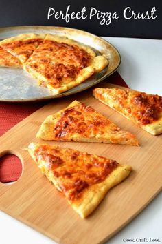 If I had known how easy pizza crust was to make at home I would have saved a lot of money! This pizza crust recipe is so light and fluffy you'll love every bite!