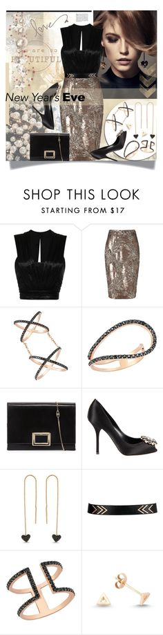 """""""New Year Eve"""" by prigaut ❤ liked on Polyvore featuring Givenchy, Isabel Marant, Phase Eight, Amorium, Roger Vivier, Dolce&Gabbana, women's clothing, women, female and woman"""