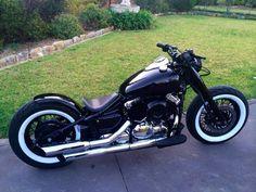 Custom xvs650 Bobber