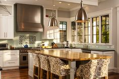 Historic Whole House Renovation - Chef's Kitchen. Llove this kithcen