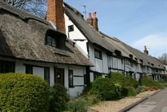 The Ann Boleyn Cottages. Tring Road, Wendover, England.