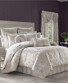 J Queen New York Le Blanc 4-Pc. King Comforter Set Bedding