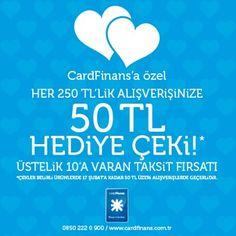 Boyner Mağazaları'nda 14 Şubat 2013'e Kadar Alışverişlerinize 50 TL Hediye Çeki Fırsatı