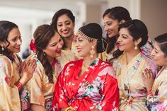 Priya and Kannan -  Wedding  at Hyatt Jersey city, New Jersey. Guyanese Bride and Srilankan Tamil groom ..  Best Wedding Photographer PhotosMadeEz. Award Winning Photographer Mou Mukherjee. Wedding Coordinator Tum Hi Ho Events.bride and bridesmaids