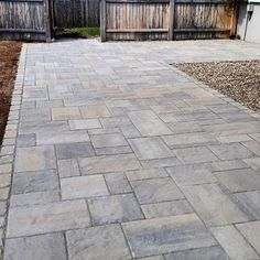 Thinking of creating a new patio in your backyard? Need a few backyard patio ideas? After a quick brainstorming session, we came up with these five backyard patio ideas that will be Read More . Outside Patio, Back Patio, Pool Pavers, Driveway Paving, Building A Pool, Building Ideas, Front Walkway, Exterior Makeover, House Landscape