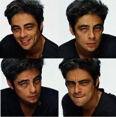 Picture of Benicio Del Toro Gorgeous Men, Beautiful People, Benecio Del Toro, Fine Men, Attractive Men, Brad Pitt, Star Wars, Celebrity Crush, Movie Stars