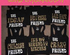 Birthday Squad shirts!!!!