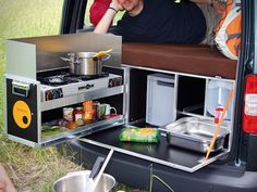 Van Camper Conversion Kit (It says you can put this in about anything,so....)