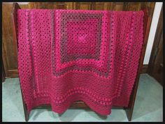 "Superbly Simple Blanket, 43"" x 43"", $105."