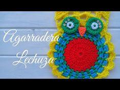 Crochet Necklace, Crochet Hats, Youtube, 1, Owl Bird, Crochet Potholders, Cute Crochet, Crochet Hot Pads, Breien