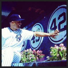 NY Yankees  ...  Mariano Rivera gets his number retired to monument park