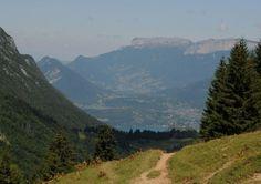 Itinéraire de randonnée : le Col de la Frasse à Entrevernes - Sports pédestres, Itinéraire de randonnée pédestre - Lac d\'Annecy