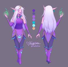 Faeb Cosplay Ref by Faebelina on DeviantArt Fantasy Character Design, Character Design Inspiration, Character Concept, Character Art, Dungeons And Dragons Characters, Dnd Characters, Fantasy Characters, Elf Drawings, Cute Drawings