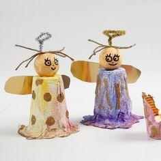 Angels from Gauze Bandage