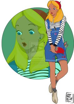 Disney University - Alice by *Hyung86 on deviantART