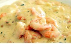 Molho de camarão para massas (fettuccine), lasanha... como queiram...