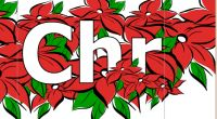 Merry Christmas Banner at word-documents.com