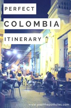 Colombia itinerary - the best places to visit in Colombia in 3 weeks #colombia #bogota #medellin #cartagena #travel #itinerary #plan #vacation