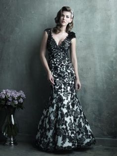 Allure Couture C287 Vintage Lace Wedding Dress